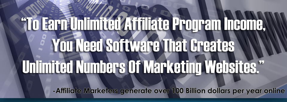 Increase your affiliate marketing income, use iRadek Software